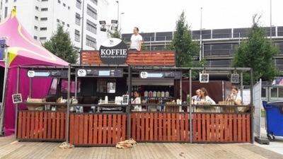 Noord Coffee Brand(t)weer